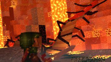 Volcano interior Minecraft Map & Project