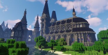 Hamburg Cathedral Minecraft Map & Project