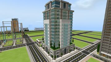 Great Lapis Urban Central Mall Minecraft Map & Project