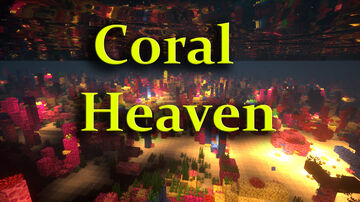 Spend a few minutes watching my calming Coral Reef video Minecraft Map & Project