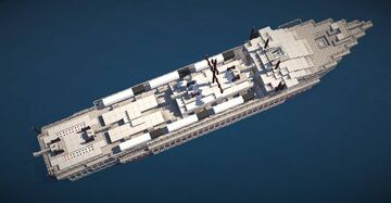 [Download Avaliable] TP-XX Long Range Torpedo Boat [TP-00 Prototype] Minecraft Map & Project