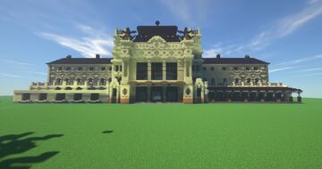 Train Station - city of Brno Minecraft Map & Project
