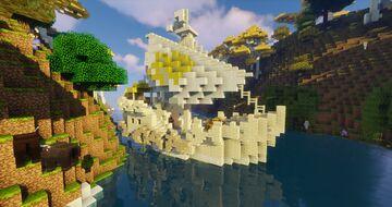 Lothlorien little elven ship Minecraft Map & Project
