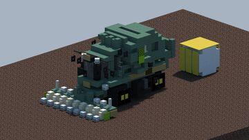 John Deere CS690 Cotton Stripper [With Download] Minecraft Map & Project