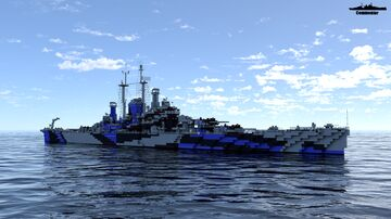 USS Des Moines 1:1 Scale Minecraft Map & Project