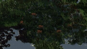The green plains of a fabulous continent - 10000x10000 Minecraft Map & Project