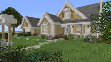 Suburban Family Home - Hazel View Minecraft Map & Project