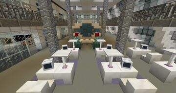 Men In Black Head Quarters Minecraft Map & Project
