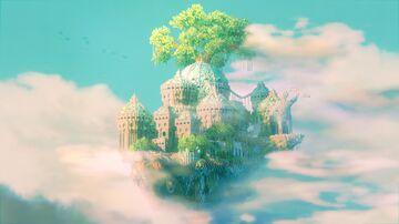 "MinecraftPe Build""Castle on the sky"" Minecraft Map & Project"