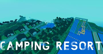 CAMPING RESORT 1.12.2 (2.0) - TheAlex852 Minecraft Map & Project