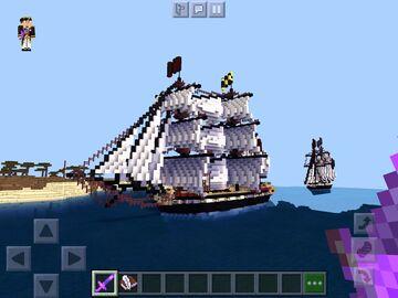 20 gun brig Minecraft Map & Project