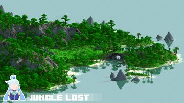 Jungle Lost - 2000x2000 [worldpainter] Minecraft Map & Project