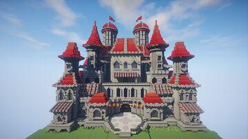Castillo Rojo Minecraft Map & Project