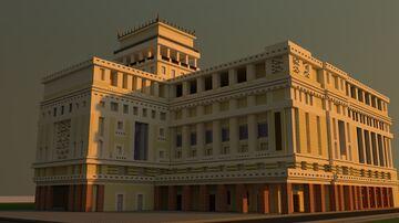 "Кинотеатр ""Низами""/ Nizami Cinema Minecraft Map & Project"