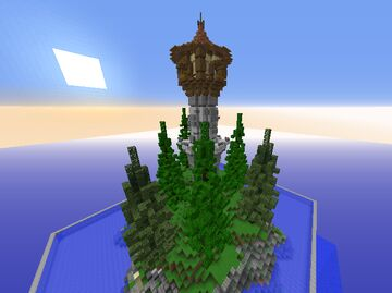 Tower Island | Plots - 11 Minecraft Map & Project