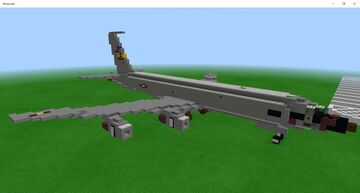 KC-135R Stratotanker (Andrews AFB Livery) 1.5:1 Scale Minecraft Map & Project