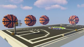 Basketball | Skywars Map Minecraft Map & Project