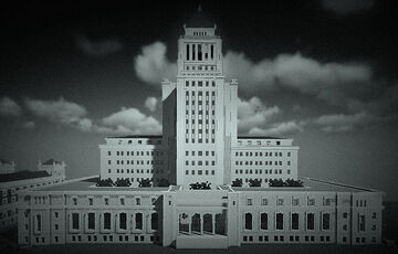 City Hall, Los Angeles Minecraft Map & Project