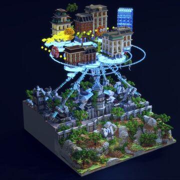 Nostalgia Minecraft Map & Project