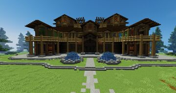 Woodland Mansion Minecraft Map & Project