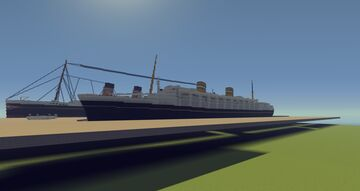 SS Nieuw Amsterdam 1938 Minecraft Map & Project