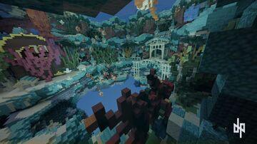 UnderWater Spawn Minecraft Map & Project