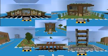 Procedural Metropolis Project Entry Minecraft Map & Project