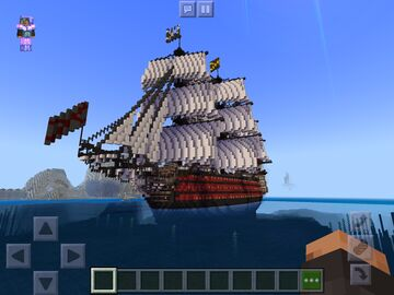 Golden victory based on hms victory Minecraft Map & Project