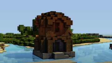 Fisherman's Tower Minecraft Map & Project