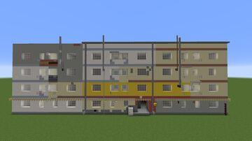 Communist apartment block Minecraft Map & Project