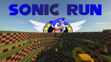 Sonic Parkour (Competition Map 8/9/20-8/16/20) Java/Win10 Minecraft Map & Project