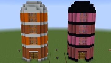 Automatic Pumpkin and Melon Silo - 1.11+ Minecraft Map & Project