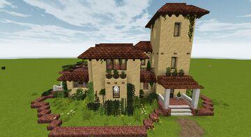 Spanish Villa/Finca Minecraft Map & Project