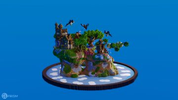 Flying Secret Islands Minecraft Map & Project
