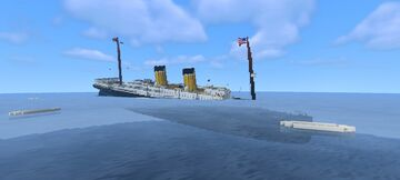 SS Bolton sinking (Bedrock edition) Minecraft Map & Project
