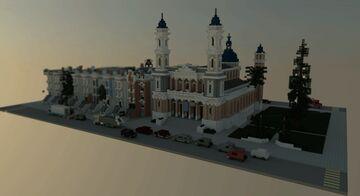 St. Ignatius Church - San francisco Minecraft Map & Project