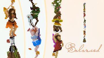 Balanced: Nature's Acrobats Minecraft Map & Project