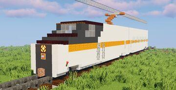 Traincraft High Speed Train Set | Vanilla Minecraft build Minecraft Map & Project