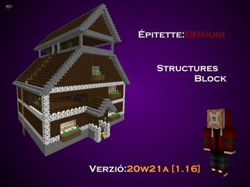 Ház1 Minecraft Map & Project