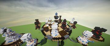 Chessboard Skywars map [1.8] Minecraft Map & Project