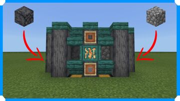 How To Build A Basalt & Cobblestone Generator Minecraft Map & Project