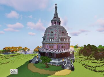 Octagonal Armour Stiner house Minecraft Map & Project