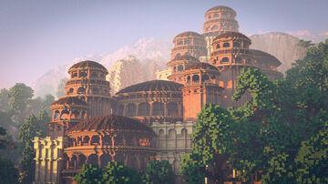 Jungle Palace Minecraft Map & Project