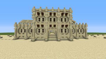 Desert Townhall Minecraft Map & Project