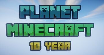 ✨ Planet Minecraft 10 Year - AliensBuilds ✨ Minecraft Map & Project