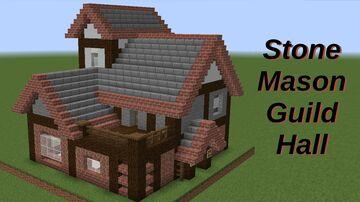 Stonemason's Guildhall Minecraft Map & Project