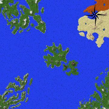 Pandora (10K x 10K) Minecraft Map & Project
