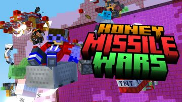 Honey Missile Wars 2.0 Minecraft Map & Project