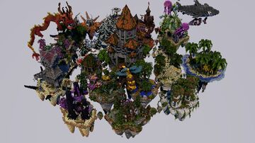 SkyPvP map [DOWNLOAD] Minecraft Map & Project