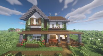 Farmhouse [Free Download] Minecraft Map & Project